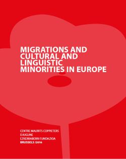 Minorities and migrations