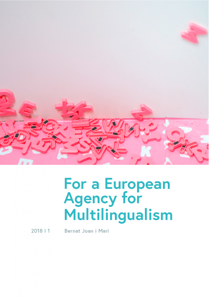For a European agency for multilingualism